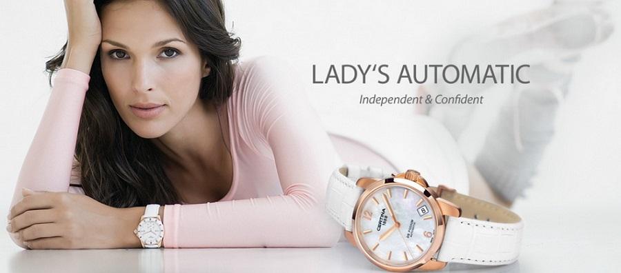 Женские часы Certina