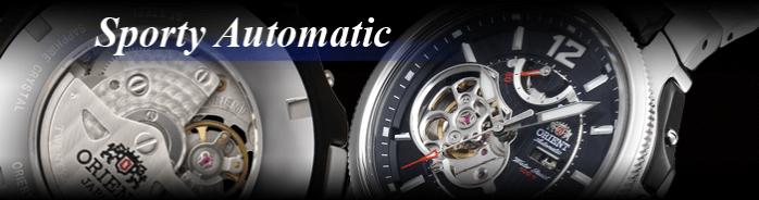 Механические часы с автоподзаводом Orient