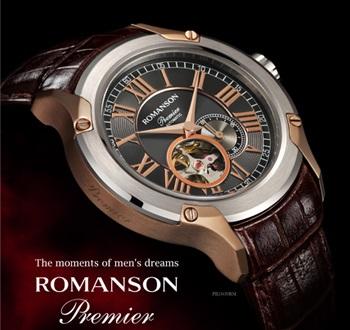 ROMANSON. Купить часы Романсон в магазине New-Time Украина. Мужские ... 72c67d86fac6d
